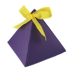 Pyramid Boxes Custom Printed Gift Favor Wholesale