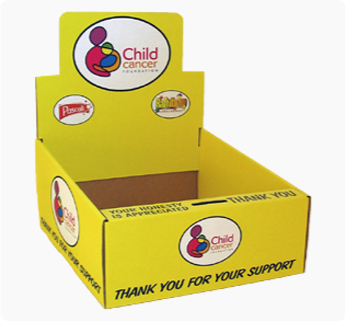 Cardboard Display box design