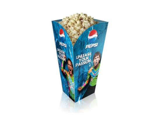 mini popcorn boxes design